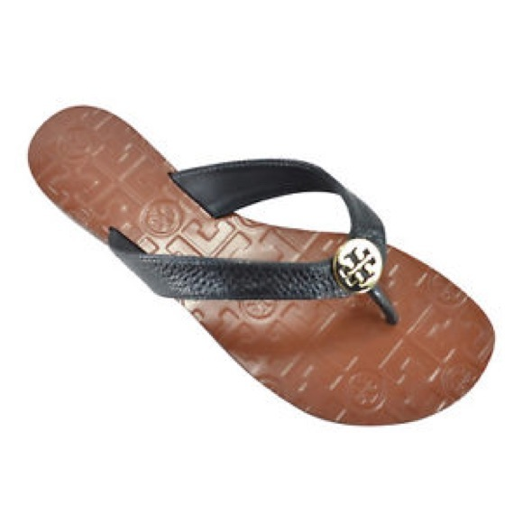 3fa3ce8cb New Tory Burch Thora Tumbled Leather Sandals🌟
